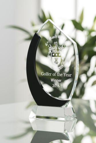 "10"" Oval Award"