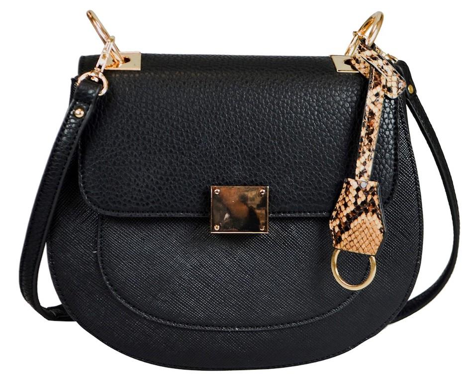 black-satchel-bag