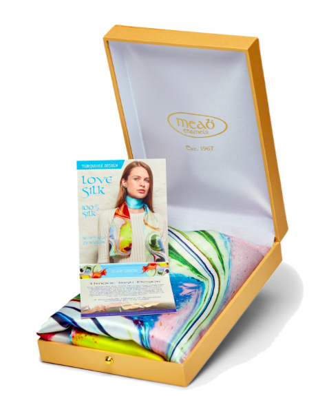 Meab Silk Scarf