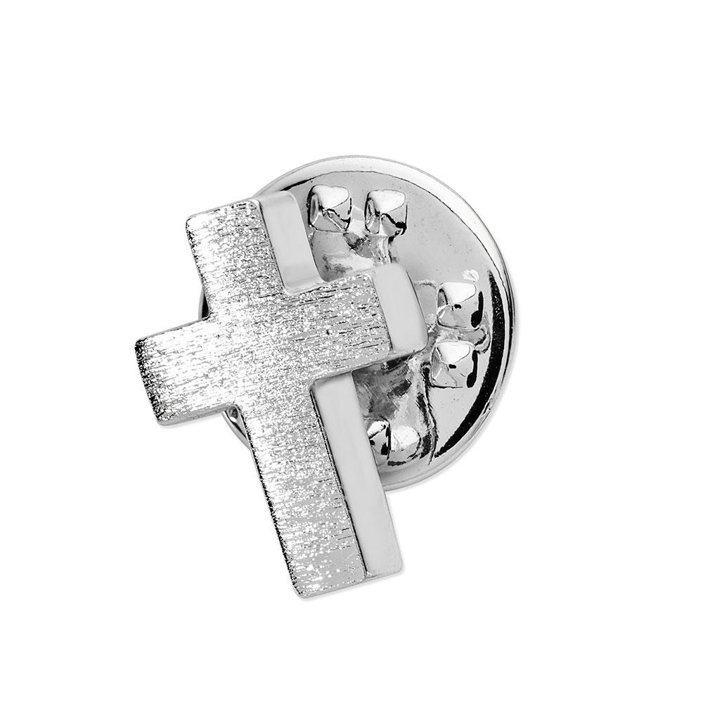 Cross Lapel Pin