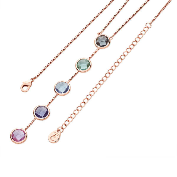 Pastel Linear Necklace
