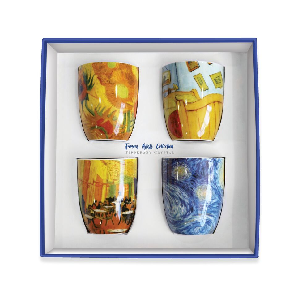 VINCENT SET 4 MUGS BOX 115378