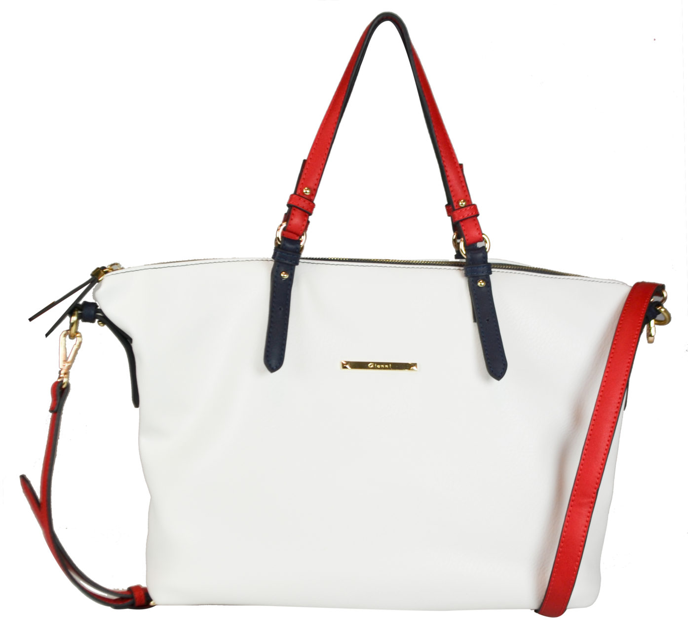 Bag_White_Red Strap