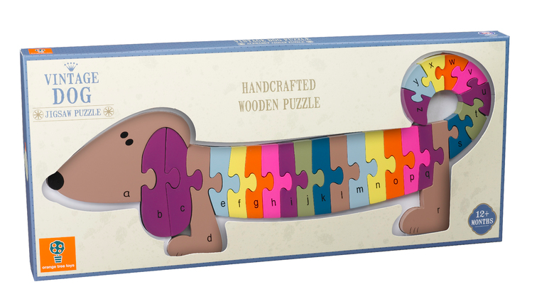 Dog Wooden Puzzle