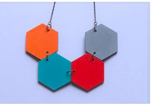 Hexagon Necklace 1