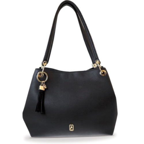 Sicily Black Shoulder Bag