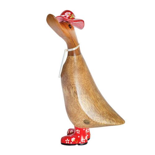 Ornamental Wooden Duck