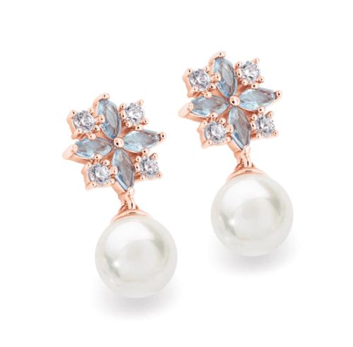 Drop Pearl Earrings
