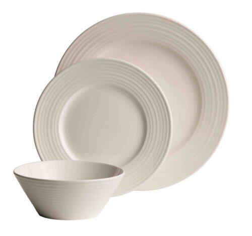White Dinner Set