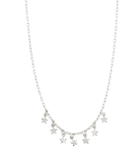 Pilgrim Silver Necklace