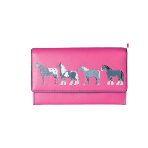 Horse 100% Leather Wallet