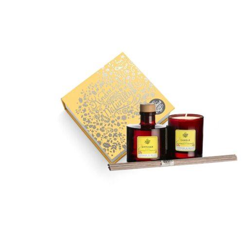 Lemongrass & Cedarwood Candle & Diffuser Gift Set