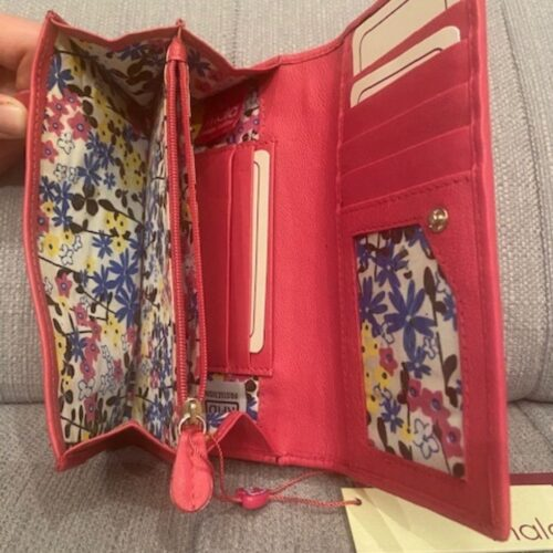Ladies Leather Wallet by Mala Leather
