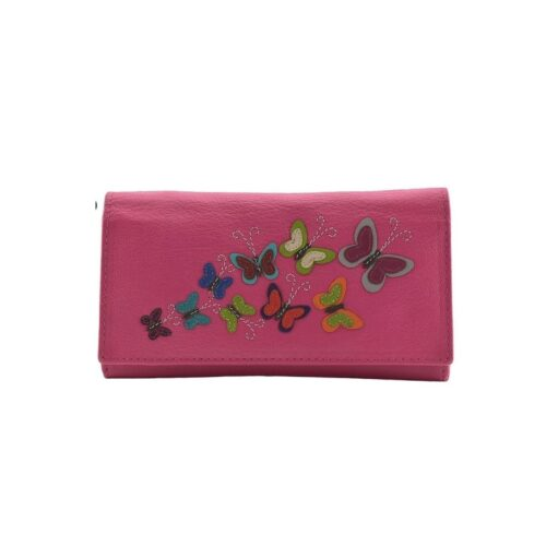 100% Leather Ladies Wallet by Mala Leather