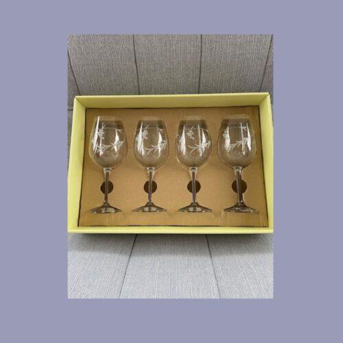 Duiske Glass Red Wine Glasses