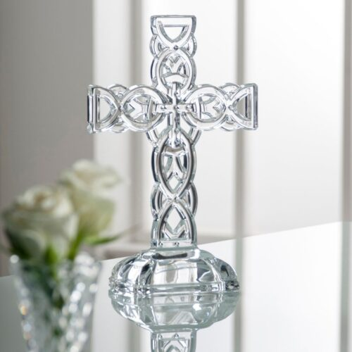 CELTIC CROSS BY GALWAY CRYSTAL