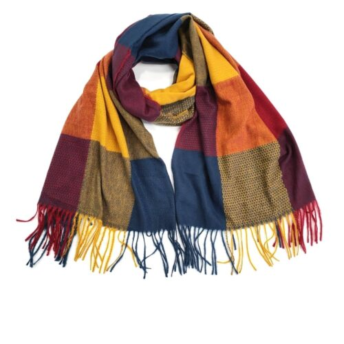 Cosy Colourful Ladies Scarf